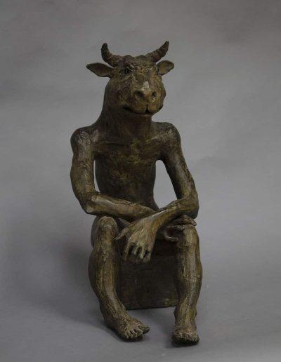 Minotaure 3 bronzeLeg