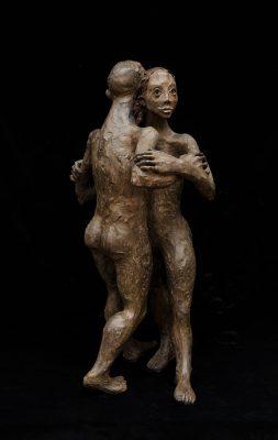 couple bronze 75X40X35.leg