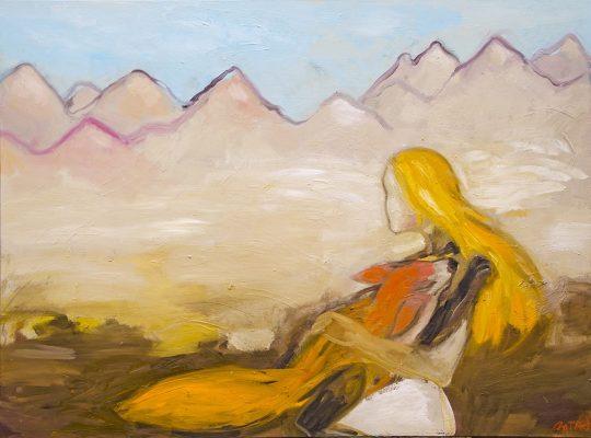 la femme et le renard 130X97.leg2