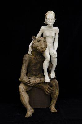 la fille et l'ours